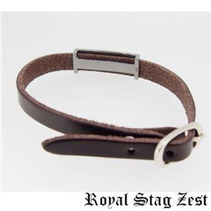 sbr25-009 Royal Stag ZEST(ロイヤル・スタッグ・ゼスト) 天然石数珠ブレスレット・レザーブレスレット メンズ h02