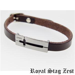 sbr25-009 Royal Stag ZEST(ロイヤル・スタッグ・ゼスト) 天然石数珠ブレスレット・レザーブレスレット メンズ h03