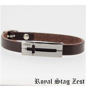 sbr25-009 Royal Stag ZEST(ロイヤル・スタッグ・ゼスト) 天然石数珠ブレスレット・レザーブレスレット メンズ f05