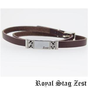 sbr25-010 Royal Stag ZEST(ロイヤル・スタッグ・ゼスト) 天然石数珠ブレスレット・レザーブレスレット メンズ h02