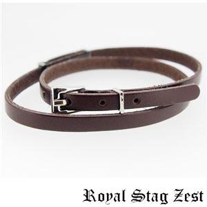 sbr25-010 Royal Stag ZEST(ロイヤル・スタッグ・ゼスト) 天然石数珠ブレスレット・レザーブレスレット メンズ h03