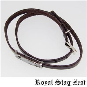 sbr25-010 Royal Stag ZEST(ロイヤル・スタッグ・ゼスト) 天然石数珠ブレスレット・レザーブレスレット メンズ f04