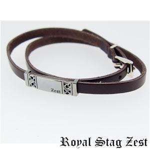 sbr25-010 Royal Stag ZEST(ロイヤル・スタッグ・ゼスト) 天然石数珠ブレスレット・レザーブレスレット メンズ f05