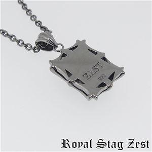 sn25-006 Royal Stag ZEST(ロイヤル・スタッグ・ゼスト) シルバーネックレス メンズ h02