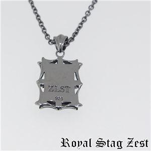 sn25-006 Royal Stag ZEST(ロイヤル・スタッグ・ゼスト) シルバーネックレス メンズ f04