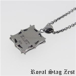 sn25-006 Royal Stag ZEST(ロイヤル・スタッグ・ゼスト) シルバーネックレス メンズ f06