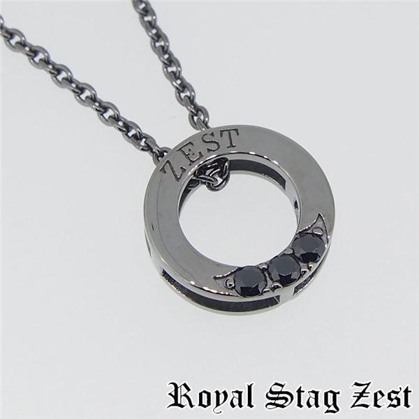sn25-008 Royal Stag ZEST(ロイヤル・スタッグ・ゼスト) シルバーネックレス メンズf00