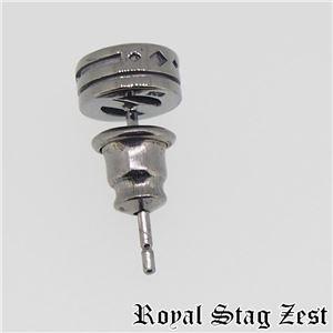 sp25-006 Royal Stag ZEST(ロイヤル・スタッグ・ゼスト) シルバースタッドピアス メンズ f04
