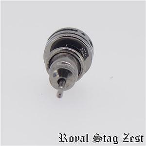 sp25-006 Royal Stag ZEST(ロイヤル・スタッグ・ゼスト) シルバースタッドピアス メンズ f06