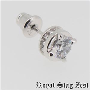 sp25-008 Royal Stag ZEST(ロイヤル・スタッグ・ゼスト) シルバースタッドピアス メンズ h01