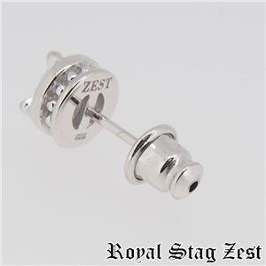 sp25-008 Royal Stag ZEST(ロイヤル・スタッグ・ゼスト) シルバースタッドピアス メンズ h02