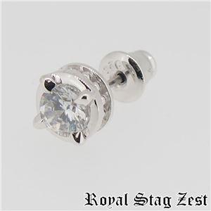 sp25-008 Royal Stag ZEST(ロイヤル・スタッグ・ゼスト) シルバースタッドピアス メンズ f04