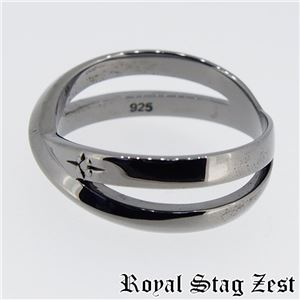 sr25-003 Royal Stag ZEST(ロイヤル・スタッグ・ゼスト) リング・指輪 メンズ 17号 h03