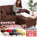 カスタマイズソファ【-Connect-コネクト】(オットマン単品) ベージュ