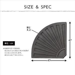 ハンギングパラソル用ベース【パラソルベース-13kg-】(パラソル ベース 13kg) ブラック