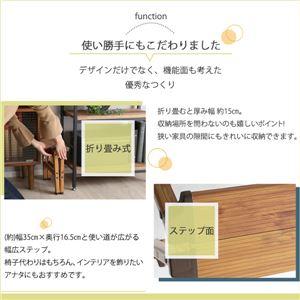 折りたたみ式 ステップスツール/脚立 【1段タイプ カモ】 アルミ製 軽量 『monSTEP』 【完成品】