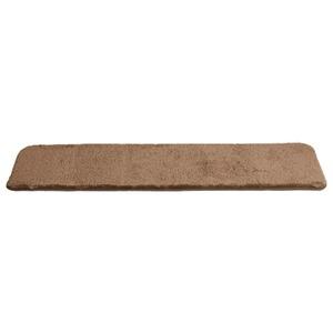 ふわふわシャギー キッチンマット 【Mサイズ 50×210cm/ブラウン】 洗える オールシーズン対応 『Enohte-エノーテ-』