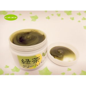 アラフォーからのオーガニック化粧品 緑茶クリームパック
