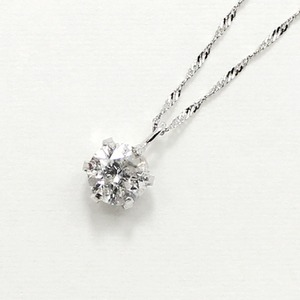 プラチナ9000.55ctダイヤモンドペンダント/ネックレス