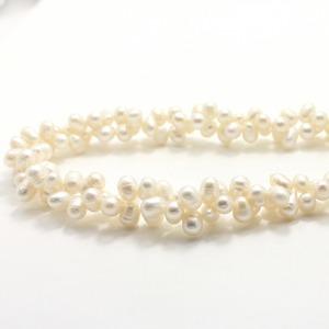 淡水真珠 ボリューム ネックレス ペンダント 42cm