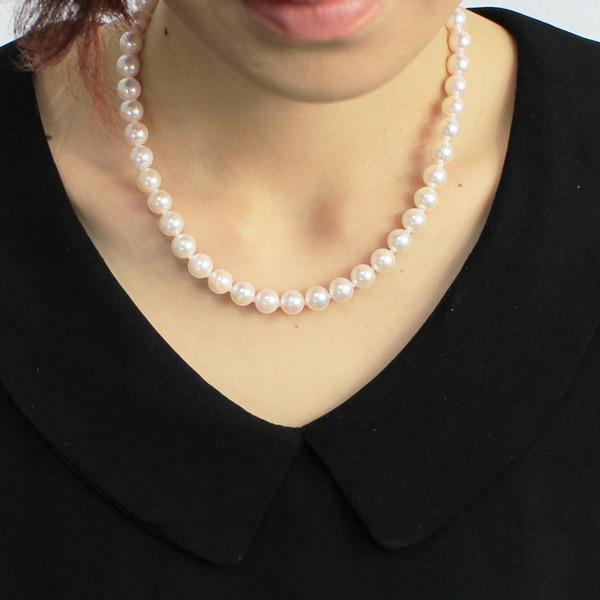 あこや真珠 ネックレス・ピアスセット