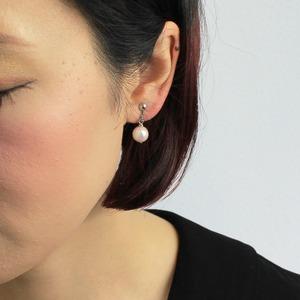 アコヤ本真珠 8.5-9.0mm珠 ネックレス&イヤリング&ペンダント 3点セット