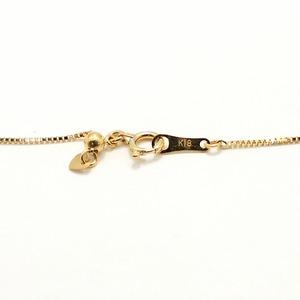 18金ゴールド 8.0-8.5mm珠あこや真珠 ゴールデンパール ステーションネックレス