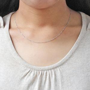 造幣局検定刻印入り 純プラチナ スクリューチェーン  ネックレス 42cm 2.0g f05