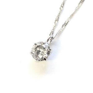 プラチナ9000.3ctダイヤモンドペンダント