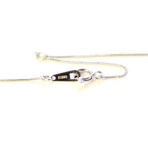 ダイヤモンド ネックレス 8の字 レディース ペンダント ホワイトゴールド
