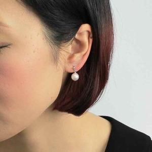 アコヤ本真珠 8.5-9.0mm珠 ネックレス&イヤリング