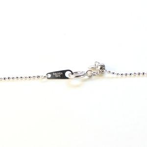 8mm珠 アコヤ真珠 5ストーン ペンダント ネックレス