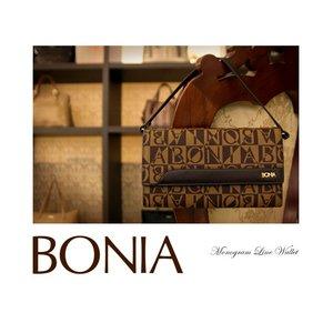 BONIA(ボニア)モノグラム/牛革かぶせ長財布/ミニバッグ/レディース【bonia-319】【081135-501-15】 - 拡大画像