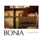 BONIA(ボニア)モノグラム/牛革かぶせ長財布/ミニバッグ/レディース【bonia-319】【081135-501-15】