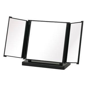 カジュアルコンパクトミラー(折りたたみ三面鏡/...の紹介画像2