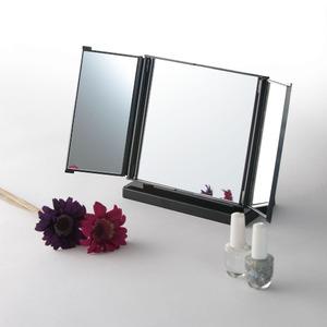 カジュアルコンパクトミラー(折りたたみ三面鏡/...の紹介画像4