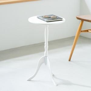 クラシック調サイドテーブル/丸テーブル 【円形...の紹介画像4
