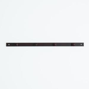 コートハンガー【4玉】 (ブラウン/茶) 幅8...の紹介画像3