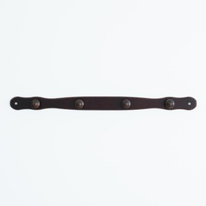 コートハンガー(壁掛けフック/端波型) (ブラ...の紹介画像3