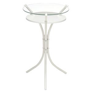【6個セット】 ガラストップサイドテーブル(ホ...の紹介画像2