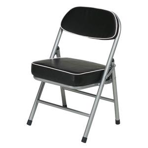 ハニーローチェア(ブラック/黒) 折りたたみ椅...の紹介画像2