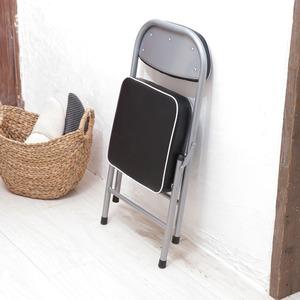 ハニーローチェア(ブラック/黒) 折りたたみ椅...の紹介画像4