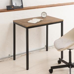 ヴィンテージテーブル(ブラウン/茶) 木製/デスク/リビングテーブル/作業台/スチール/アイアン/オフィス/仕事/モダン/レトロ/カフェ/NK-115