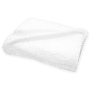 白タオル 240匁 フェイスタオル 約34×85cm 【12枚組】