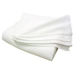 白タオル 280匁 フェイスタオル 約34×85cm しっかり 【12枚組】