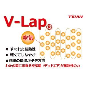 TEIJIN(テイジン) V-Lap使用 軽量敷きふとん ダブル KH-05D 日本製