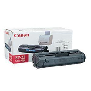 【純正品】 キヤノン(Canon) トナーカートリッジ 型番:EP-22 印字枚数:2500枚 単位:1個 h01