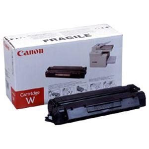【純正品】 キヤノン(Canon) トナーカートリッジ 型番:カートリッジW 印字枚数:3500枚 単位:1個 h01