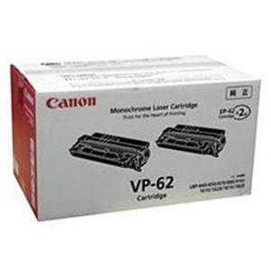 【純正品】 キヤノン(Canon) トナーカートリッジ 型番:VP-62 印字枚数:約10000枚×2個 単位:1箱(2個入) h01