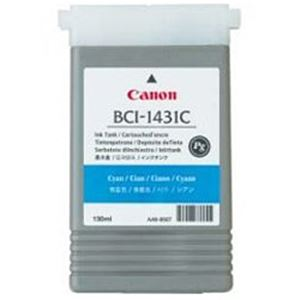 【純正品】 キヤノン(Canon) インクカートリッジ シアン 型番:BCI-1431C 単位:1個 h01
